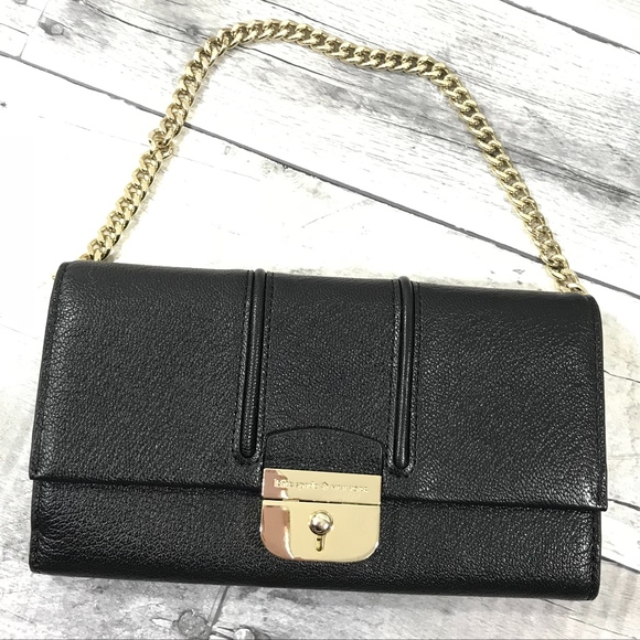 kate spade Handbags - Kate spade small black leather bag